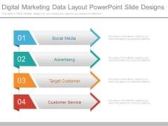 Digital Marketing Data Layout Powerpoint Slide Designs