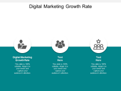 Digital Marketing Growth Rate Ppt PowerPoint Presentation Icon Format Cpb