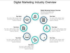 Digital Marketing Industry Overview Ppt PowerPoint Presentation Summary Images Cpb