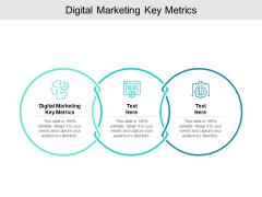 Digital Marketing Key Metrics Ppt PowerPoint Presentation Pictures Inspiration Cpb