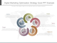 Digital Marketing Optimization Strategy Good Ppt Example