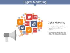 Digital Marketing Ppt PowerPoint Presentation Infographics Graphics