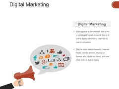 Digital Marketing Ppt PowerPoint Presentation Professional Example
