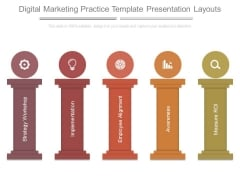 Digital Marketing Practice Template Presentation Layouts