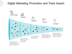 Digital Marketing Promotion And Track Impact Ppt PowerPoint Presentation Inspiration Rules