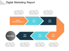 Digital Marketing Report Ppt PowerPoint Presentation Deck Cpb