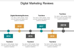 Digital Marketing Reviews Ppt PowerPoint Presentation Professional Portfolio Cpb