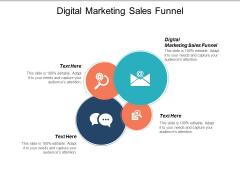 Digital Marketing Sales Funnel Ppt PowerPoint Presentation Model Deck Cpb