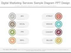 Digital Marketing Services Sample Diagram Ppt Design