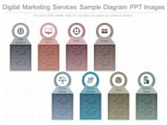 Digital Marketing Services Sample Diagram Ppt Images