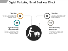 Digital Marketing Small Business Direct Marketing Mailing Lists Ppt PowerPoint Presentation Inspiration Model