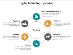 Digital Marketing Spending Ppt PowerPoint Presentation Layouts Layout Cpb