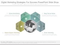 Digital Marketing Strategies For Success Powerpoint Slide Show