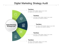 Digital Marketing Strategy Audit Ppt PowerPoint Presentation File Background Images Cpb Pdf