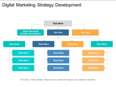 Digital Marketing Strategy Development Ppt PowerPoint Presentation Show Structure Cpb