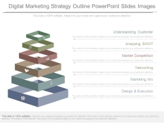 Digital Marketing Strategy Outline Powerpoint Slides Images
