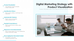 Digital Marketing Strategy With Product Visualization Ppt Summary Background Image PDF