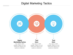 Digital Marketing Tactics Ppt PowerPoint Presentation File Examples Cpb