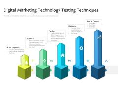 Digital Marketing Technology Testing Techniques Ppt PowerPoint Presentation Icon Show PDF
