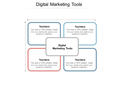 Digital Marketing Tools Ppt PowerPoint Presentation Show Grid Cpb
