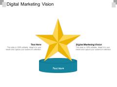 Digital Marketing Vision Ppt PowerPoint Presentation Icon Design Templates