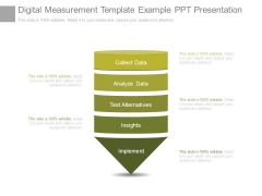 Digital Measurement Template Example Ppt Presentation