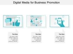 Digital Media For Business Promotion Ppt PowerPoint Presentation Ideas Show
