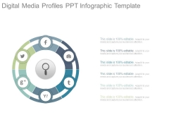 Digital Media Profiles Ppt Infographic Template