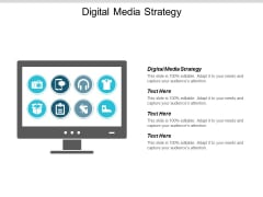 Digital Media Strategy Ppt Powerpoint Presentation Pictures Good Cpb