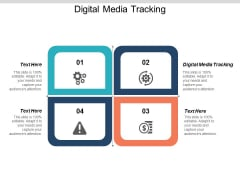 Digital Media Tracking Ppt PowerPoint Presentation Icon Visual Aids Cpb