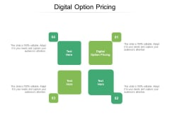Digital Option Pricing Ppt PowerPoint Presentation File Sample Cpb