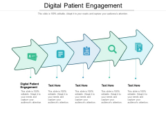 Digital Patient Engagement Ppt PowerPoint Presentation Styles Rules Cpb Pdf