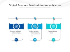 Digital Payment Methodologies With Icons Ppt PowerPoint Presentation File Samples PDF