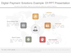 Digital Payment Solutions Example Of Ppt Presentation