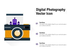 Digital Photography Vector Icon Ppt PowerPoint Presentation Model Influencers
