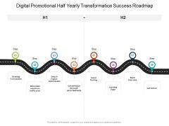 Digital Promotional Half Yearly Transformation Success Roadmap Inspiration