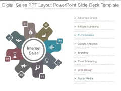 Digital Sales Ppt Layout Powerpoint Slide Deck Template