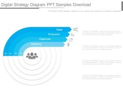 Digital Strategy Diagram Ppt Samples Download