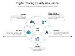 Digital Testing Quality Assurance Ppt PowerPoint Presentation Pictures Aids Cpb Pdf