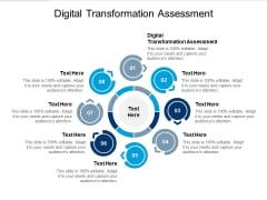 Digital Transformation Assessment Ppt PowerPoint Presentation Outline Information Cpb