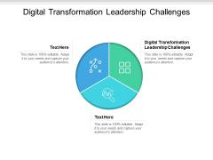 Digital Transformation Leadership Challenges Ppt PowerPoint Presentation Gallery Skills Cpb