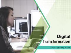 Digital Transformation Marketing Process Management Ppt PowerPoint Presentation Complete Deck