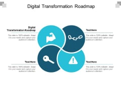 Digital Transformation Roadmap Ppt PowerPoint Presentation Layouts Slide Download Cpb