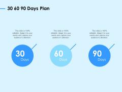 Digital Transformation Strategies 30 60 90 Days Plan Ppt Portfolio Maker PDF