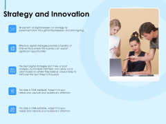 Digital Transformation Strategies Strategy And Innovation Ppt Layouts Structure PDF