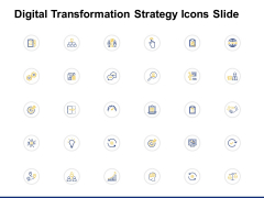 Digital Transformation Strategy Icons Slide Ppt PowerPoint Presentation Show Files