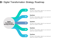 Digital Transformation Strategy Roadmap Ppt PowerPoint Presentation Inspiration Gallery Cpb Pdf