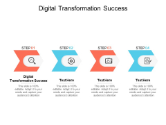 Digital Transformation Success Ppt PowerPoint Presentation File Example Cpb
