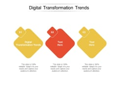 Digital Transformation Trends Ppt PowerPoint Presentation Gallery Picture Cpb
