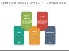 Digital Trend Marketing Template Ppt Examples Slides